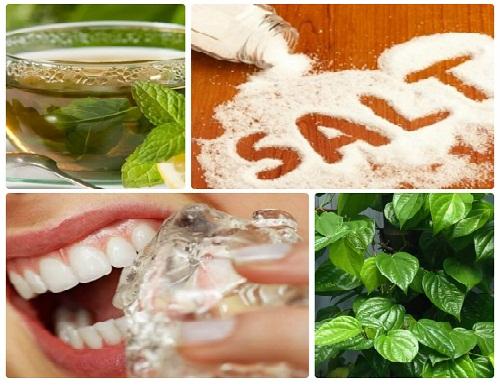 Muối – Phương thuốc cho bệnh đau răng